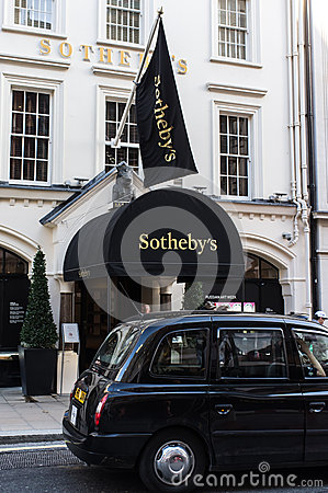 Sothebys Editorial Photo