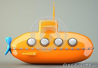 Sottomarino Fumetto-disegnato