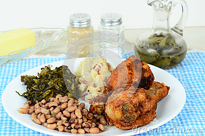 Soul Food Supper Stock Photos - Image: 28000913