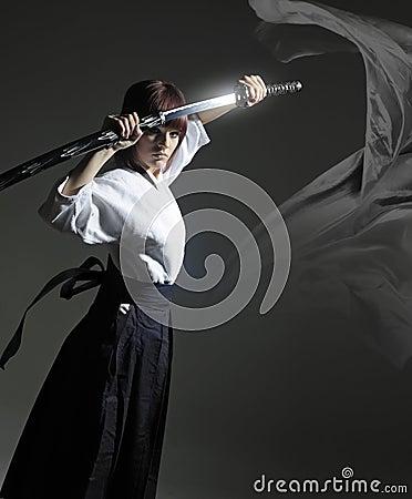 Free Soul_of_warrior(katana)3 Stock Photography - 16516152