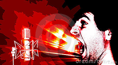 Sound attack - posterize