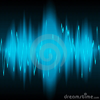 Sound energy wave
