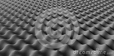 Sound Foam Staggered Pattern