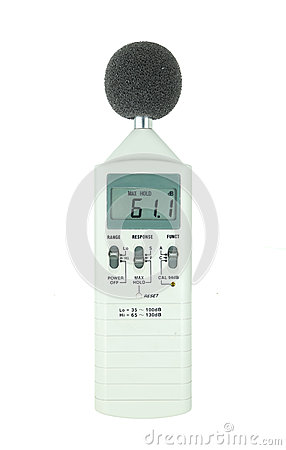 Free Sound Level Meter Royalty Free Stock Photo - 32508215