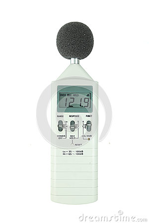 Free Sound Level Meter Royalty Free Stock Photography - 32508237