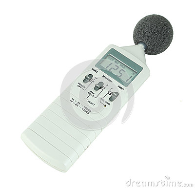 Free Sound Level Meter Royalty Free Stock Photo - 32508245