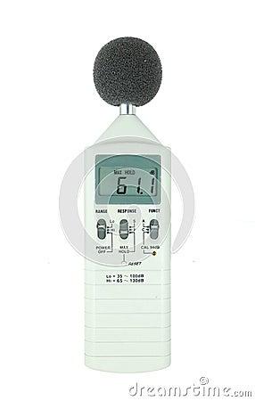 Sound Level Meter Royalty Free Stock Photo Image 32508215