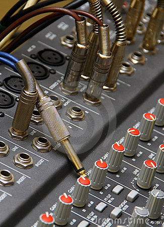 Free Sound Mixer Royalty Free Stock Photography - 20994397