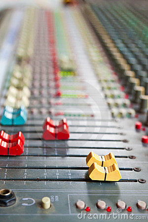 Free Sound Mixer Royalty Free Stock Images - 23700829