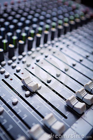 Free Sound Mixer Royalty Free Stock Image - 25632726