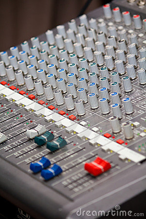 Sound and music mixer