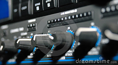 Sound Recording Equipment (Media Equipment) Stock Image - Image: 9657021