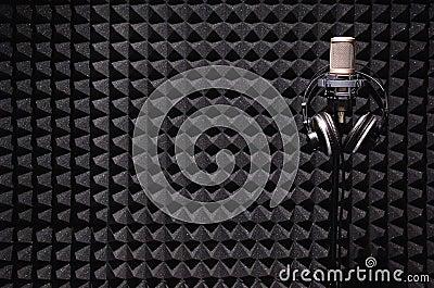 Sound recording studio