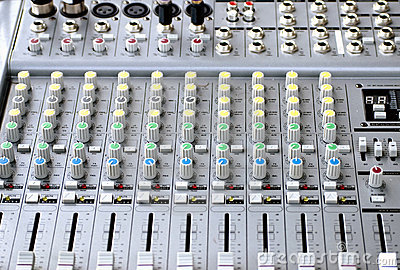 Sound System Console