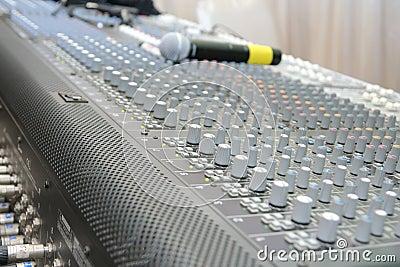 Sound system control board