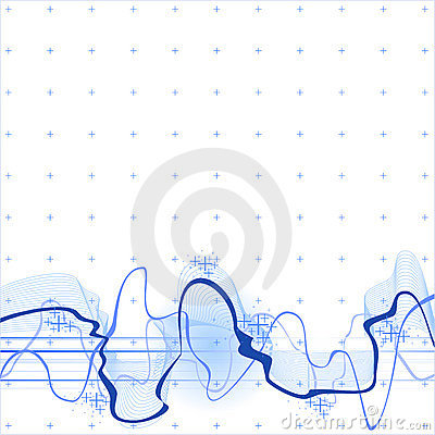 Sound Wave Background Stock Photos - Image: 3490923