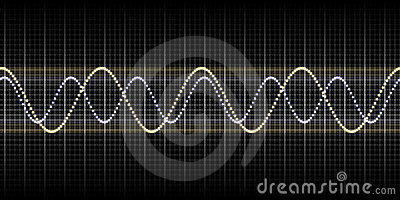 Sound wave graphic