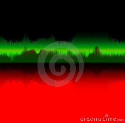 Sound wave - music concept