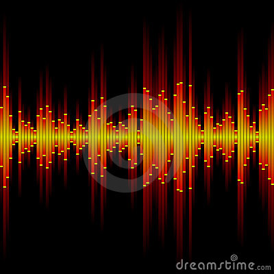 Free Sound Waveform Royalty Free Stock Photography - 13670997