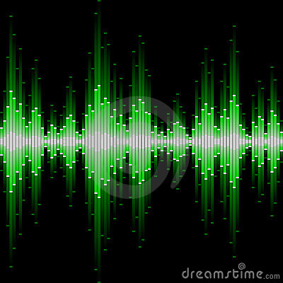 Free Sound Waveform Royalty Free Stock Photography - 13697917