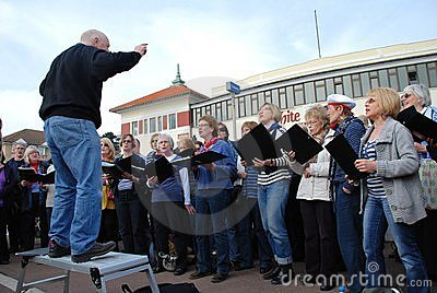 Sound Waves Community Choir, Hastings Editorial Image