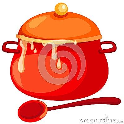 Free Soup Pan Stock Photo - 13583180