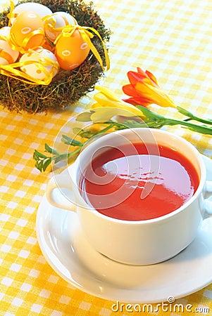Soup of tomato