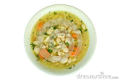 Soup wiht beans