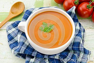 soupe faite maison 224 tomate photographie stock image 28575922