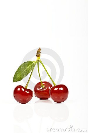 Free Sour Cherries Stock Images - 9944854