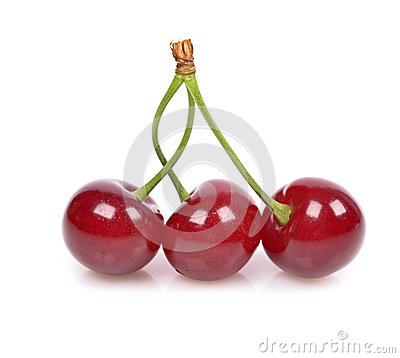 Free Sour Cherry Royalty Free Stock Photos - 25180988