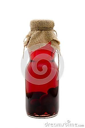 Sour cherry liquor