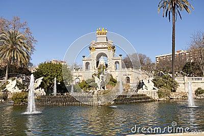 Source of Ciutadella Park