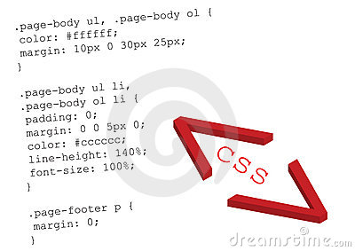 Source code css - vector