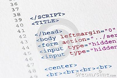 Source code program