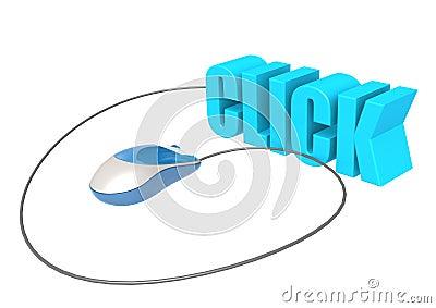 souris et clic d 39 ordinateur images libres de droits image 31937259. Black Bedroom Furniture Sets. Home Design Ideas