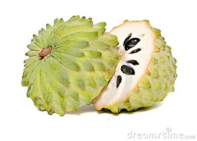 Soursop sections