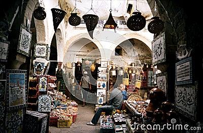 Sousse market. Tunisia