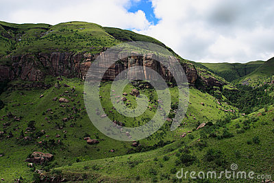South Africa Drakensberg Mountains
