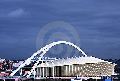 South Africa Moses Mabhida soccer stadium Editorial Photography