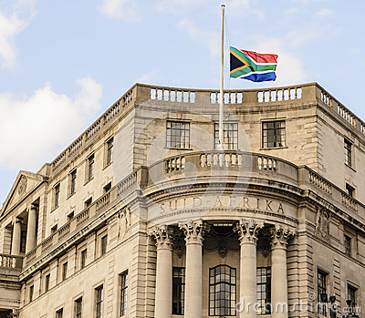 South African Embassy in London Editorial Photography