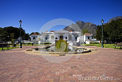 South African National Art Gallery Editorial Stock Photo