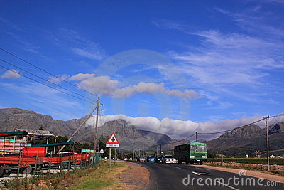 South african road Editorial Photo