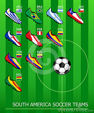 South American soccer teams