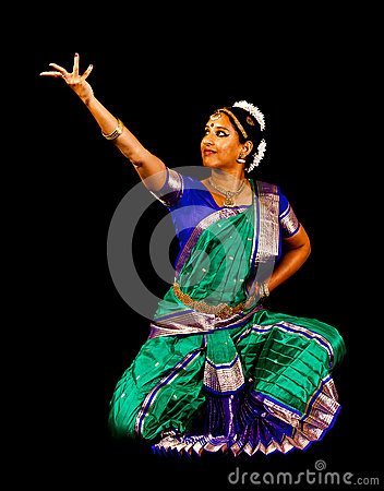 South Asian Classical Dancer