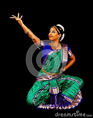 South Asian Classical Dancer