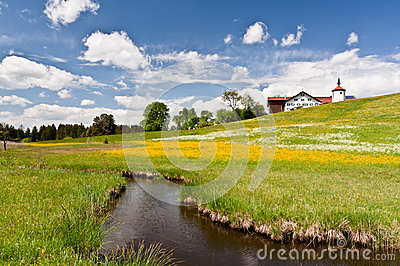 South Bavaria landscape