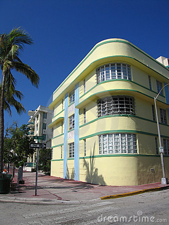 South Beach Art Deco Building