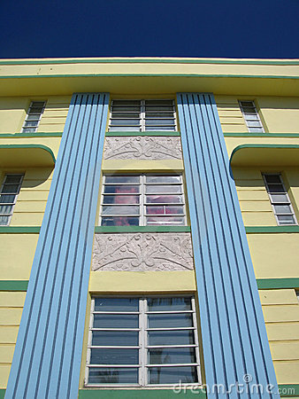 South Beach Art Deco Detail