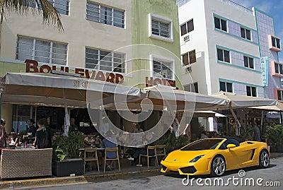 South Beach, Miami Editorial Stock Image